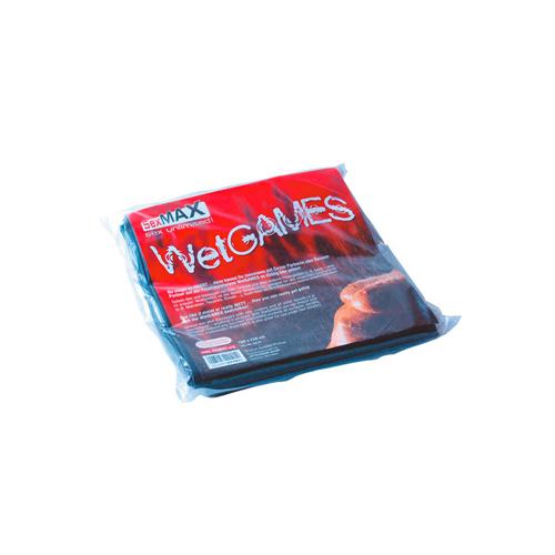 SexMAX WetGAMES Laklaken 180 x 220 cm - Zwart #1