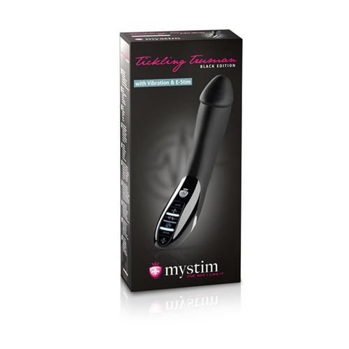 Tickling Truman E-Stim Vibrator - Black Edition #9