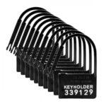 Keyholder Kuisheidskooi Hangslotjes - 10 Stuks #1