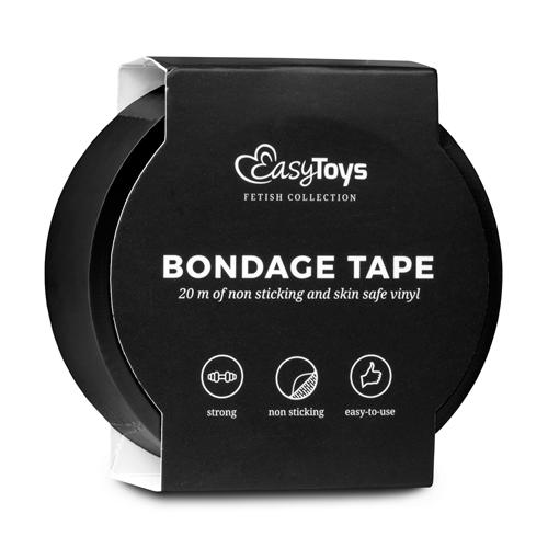 Zwarte bondagetape #3