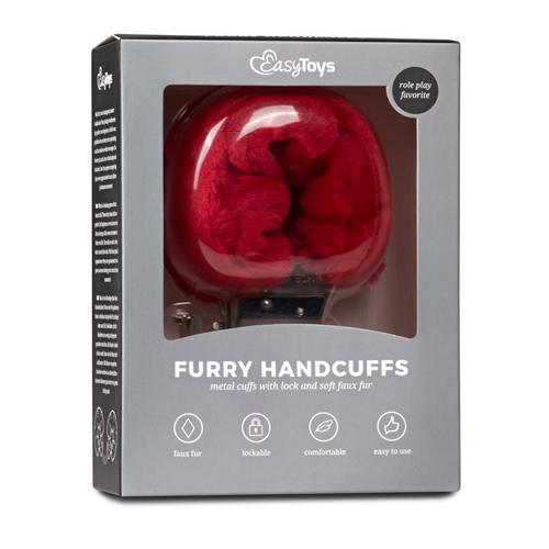 Bonten handboeien - rood #3