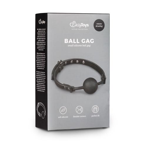 Ball gag met siliconen bal #3
