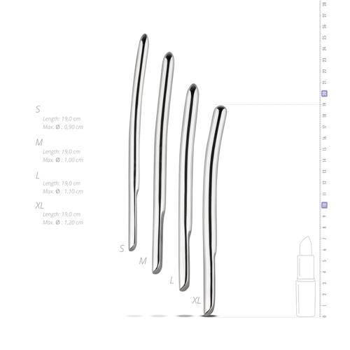 Sinner - Metalen Dilator Set 4 Stuks #11