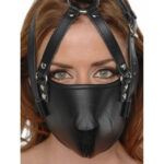 Strict Leather Face Harness #1