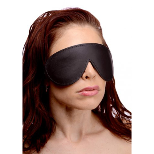 Strict Leather Padded Blindfold #3